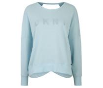 Sweatshirt, Fledermausärmel, Rückenausschnitt