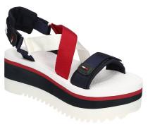 "Sandalen ""Sporty Neoprene Flatform Sandal"", Plateau, Statement-Sohle"