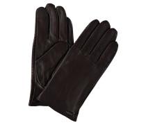 Handschuhe, Lammleder, Wollfutter, Ziernähte