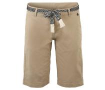 "Shorts ""Neipei"", bestickter Bindegürtel"