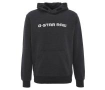 Sweatshirt, Kapuze, Baumwoll-Mix, Marken-Print