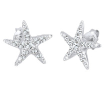 Ohrringe Seestern Swarovski® Kristalle 925 Sterling