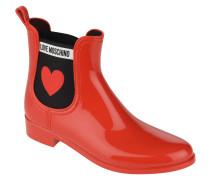 Chelsea Boots, Marken-Schriftzug, Herz