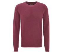 Pullover, strukturiert, uni, Baumwolle