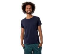 T-Shirt, Flammgarn, Baumwolle, Brusttasche