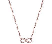 Halskette Unendlichkeit Diamant (0.02 Ct.) 925 Silber