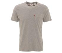 T-Shirt, Rundhals, Baumwolle, Brusttasche