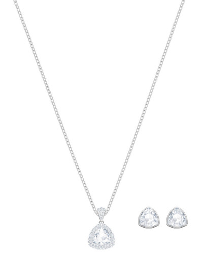 "Set Kette und Ohrstecker ""Begin Crystal"" 5373640"
