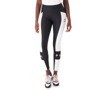 Leggings, Mesh-Einsätze, Kontrast-Design