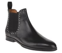 Chelsea Boots, Leder, Nieten