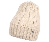 Mütze, Strick, Alpaka-Anteil, Zopf-Muster
