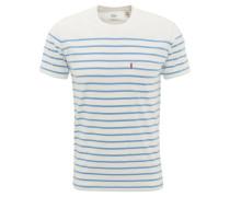 T-Shirt, gestreift, Brusttasche