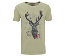 "T-Shirt ""Jagdlied"", Print, Baumwolle"