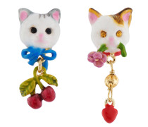 """Ohrhänger """"Little Cats"""", AHLA101T/1, mehrfarbig"""