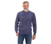 Pullover, Strick, Baumwolle, Ripp-Details