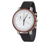Armbanduhr Franz Walnut Slate Grey WATWFRA7463
