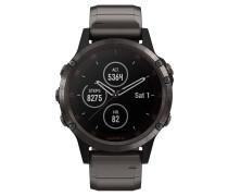 """Smartwatch """"fenix 5 Plus Sapphire"""" 010-01988-03"""