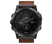 """Smartwatch """"fenix 5X Plus Sapphire"""" 010-01989-03"""