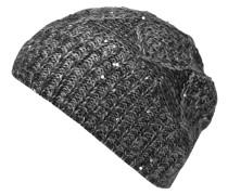 Mütze, Strick, Strass, Emblem