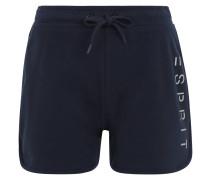Shorts, glitzernder Logo-Print, Baumwoll-Mix