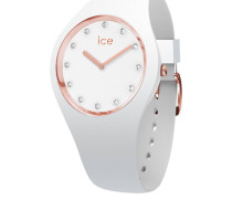 ICE cosmos - White Rose-gold - Small (2H) Damenuhr 016300