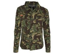 Jacke, Camouflage-Design, Brusttaschen