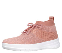SNEAKER, UBERKNIT SLIP-ON HIGH TOP, glitzerndes Textil