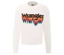 Sweatshirt, Front-Print, Rundhalsausschnitt