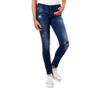 "Jeans ""Slandy"", Super Slim Fit, Skinny Leg, Destroyed Look"