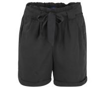 Shorts, Straight Fit, Bindegürtel