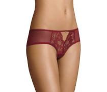 """Panty """"Navit"""", florale Spitze, Cut-Out, unifarben, transparent"""