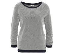 Sweatshirt, Struktur, geraffte Ärmel