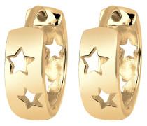 Ohrringe Creolen Sterne Astro Trend 925 Silber