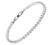 Armband, Sterling  925, -Zirkonia, zus. 1,38 ct