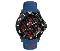 ICE carbon black & blue Herrenuhr CA.3H.BBE.B.S.15
