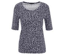 T-Shirt, gepunktet, Baumwolle