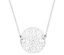 Halskette Ornament Münze 925 Sterling