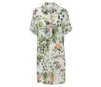 Blusenkleid, Kurzarm, Kordel, Blumenmuster