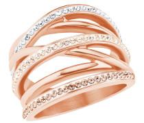 Damen-Ring mit Swarovski® Kristallen IP ROSE
