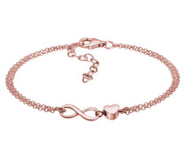 Armband Herz Liebe Unendlichkeit Infinity 925 Silber