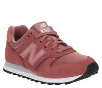 "Sneaker ""WL373PSP"", Veloursleder-Textil-Mix, Glitzer-Details"