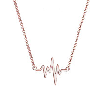 Halskette Herzschlag Liebe Geo 925 Sterling Silber
