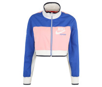 Trainingsjacke, cropped, Logo-Print, Colour-Blocking