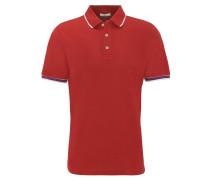 """Poloshirt """"Paul"""", Kurzarm, farbliche Akzente, uni"""