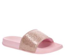Slides, Glitzer-Effekt, geformtes Fußbett
