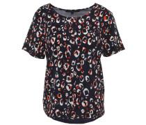 T-Shirt, Rundhals, Kurzarm, verlängerter Rücken