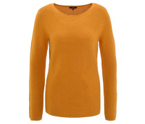 Pullover, Streifen-Struktur, Rollsaum, Baumwolle