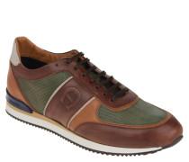 """Sneaker """"Max """", Leder, strukturiert, Vintage-Optik"""