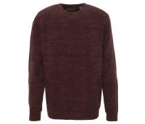 Pullover, reine Baumwolle, meliert, Struktur-Muster