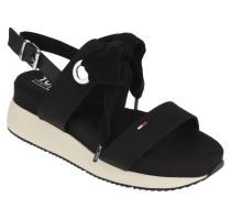 "Sandaletten ""Modern Hybrid Sandal Bow"", Baumwolle, Statement-Sohle"